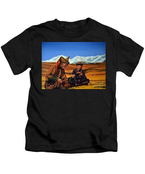 Mongolia Land Of The Eternal Blue Sky Kids T-Shirt