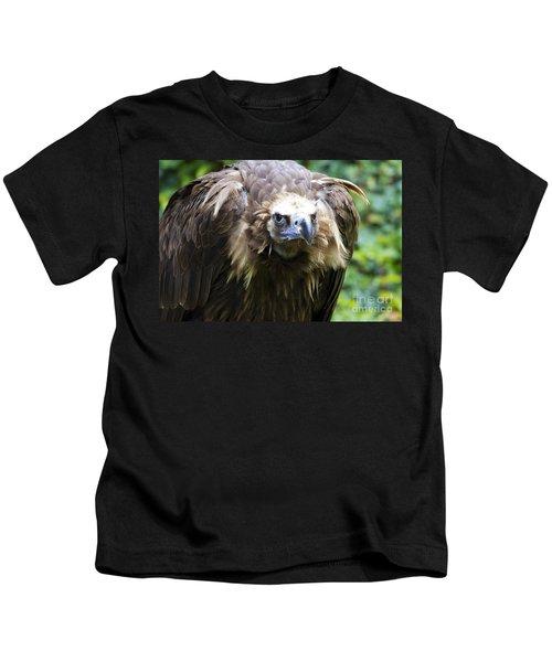 Monk Vulture 3 Kids T-Shirt by Heiko Koehrer-Wagner