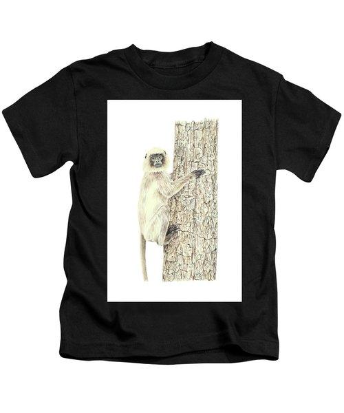 Monkey In The Tree Kids T-Shirt
