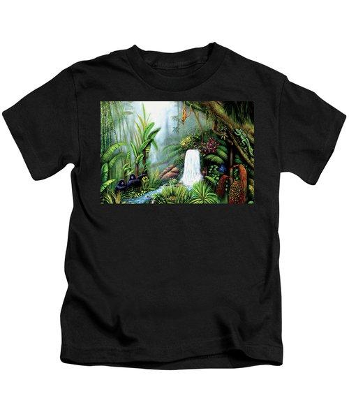 Monkeying Around Kids T-Shirt