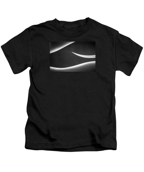 Monochrome Abstract Kids T-Shirt