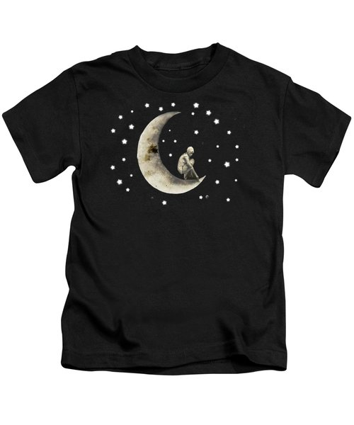 Moon And Stars T Shirt Design Kids T-Shirt