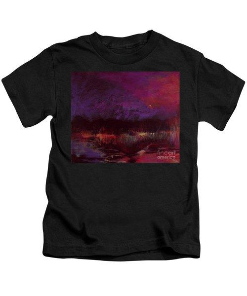 Moon Glow 5-6-11 Julianne Felton Kids T-Shirt