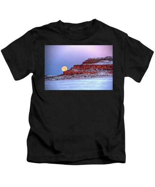 Moon Of The Popping Trees Kids T-Shirt