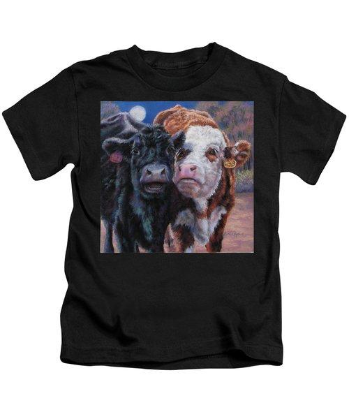 Moonlight Mooraoke Kids T-Shirt