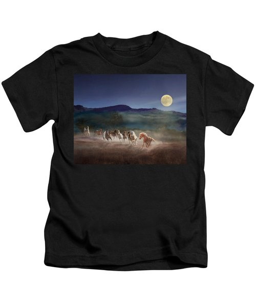 Moonlight Run Kids T-Shirt