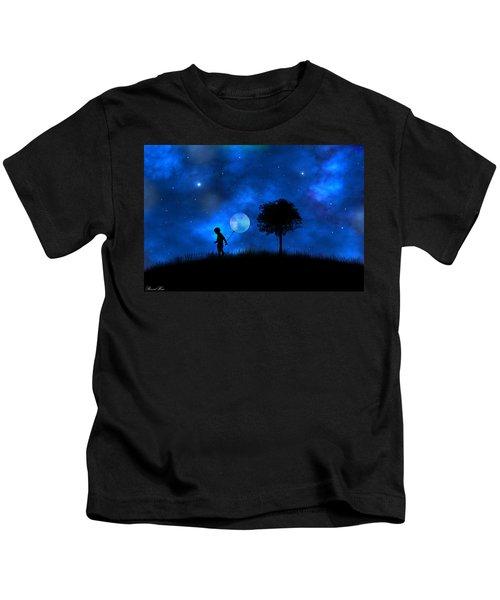 Moonlight Shadow Kids T-Shirt