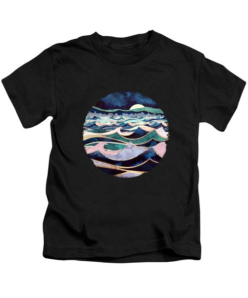 Moonlit Ocean Kids T-Shirt