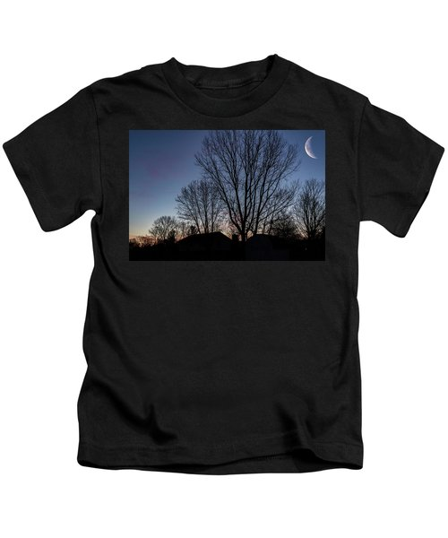 Moonlit Sunrise Kids T-Shirt