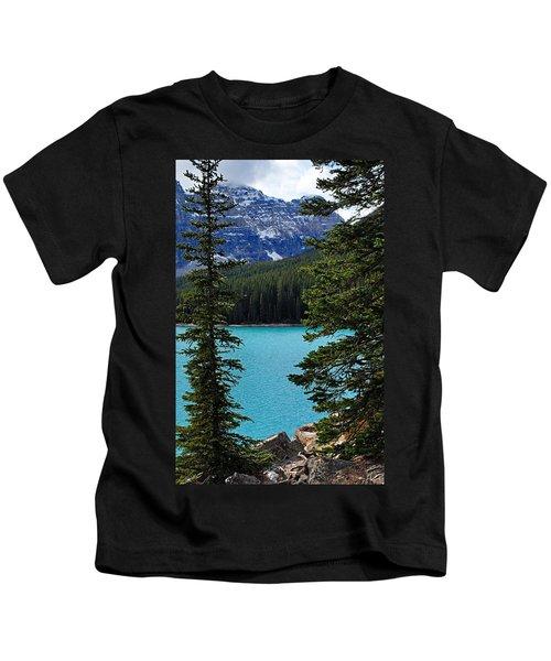 Moraine Lake 3 Kids T-Shirt