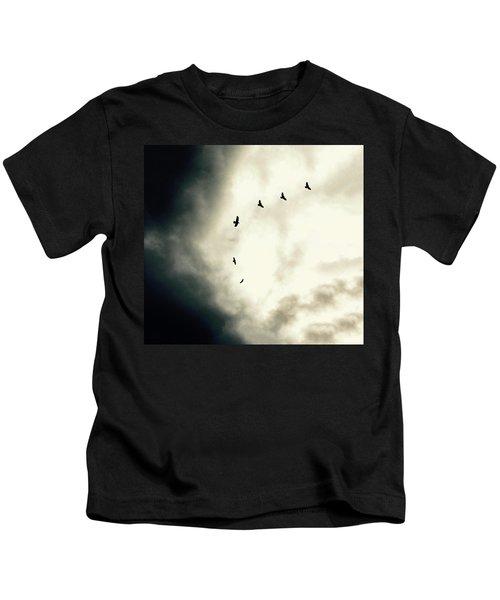 Big Sky Crows Kids T-Shirt