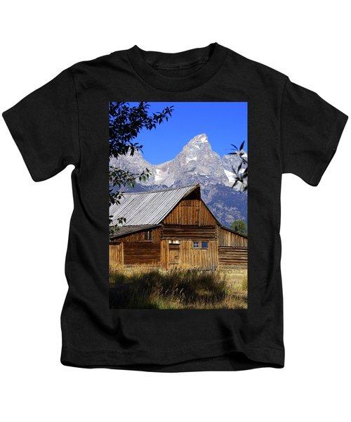 Mormon Row Barn  1 Kids T-Shirt