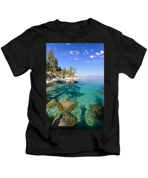 Morning Glory At The Cove Kids T-Shirt