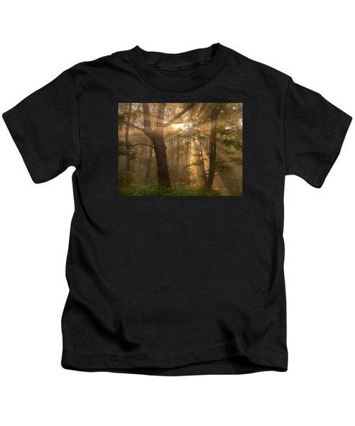 Morning God Rays Kids T-Shirt