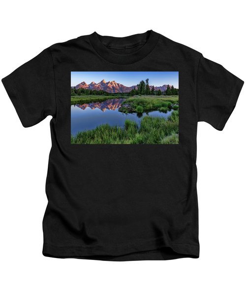 Morning Reflection Kids T-Shirt