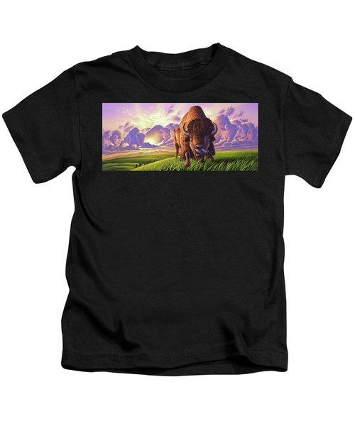 Morning Thunder Kids T-Shirt