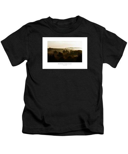 Morning's Early Light Kids T-Shirt