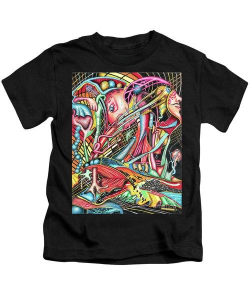 Mortal Fiber Kids T-Shirt