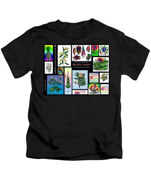 Mosaic Of Retrocollage II Kids T-Shirt