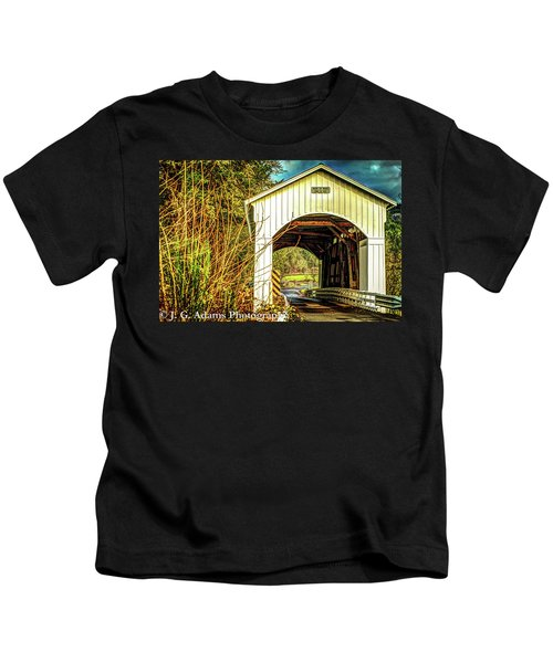 Mosby Creek Bridge Kids T-Shirt