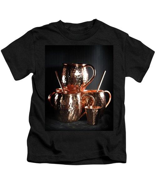 Moscow Mule Set Kids T-Shirt