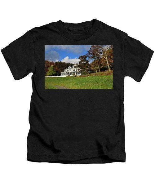 Moses Cone Flat Top Manor Kids T-Shirt
