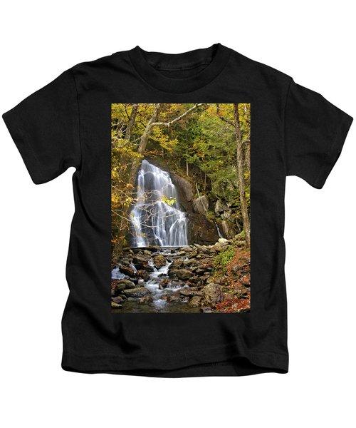 Moss Glen Falls Kids T-Shirt