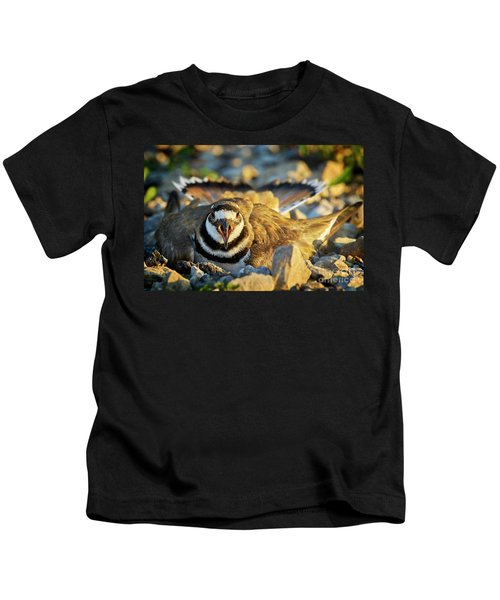 Mother Killdeer 1 Kids T-Shirt