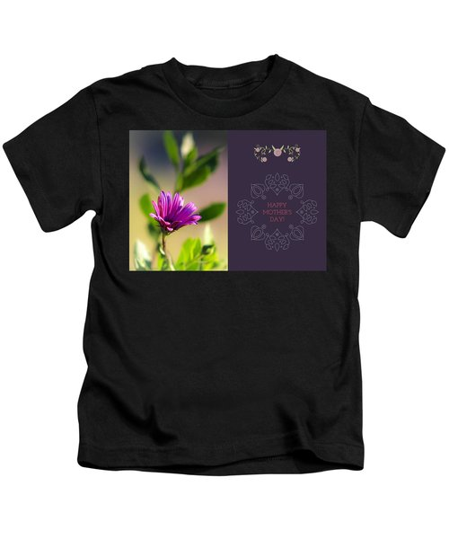 Mother's Day Flower Kids T-Shirt