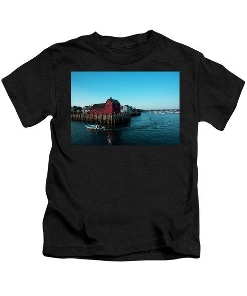 Motif Number 1 Closeup Kids T-Shirt