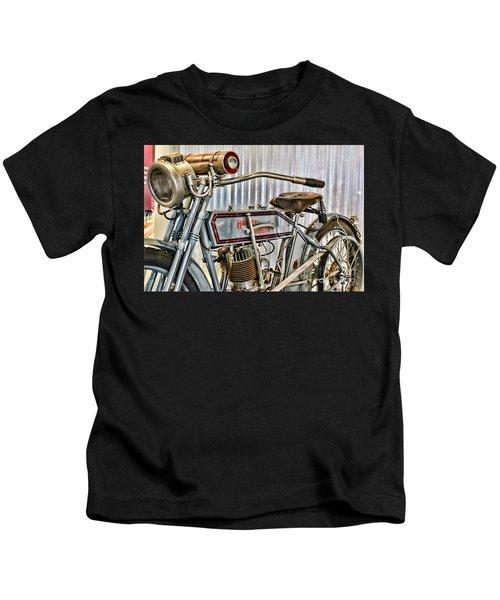 Motorcycle - 1913 Harley Davidson 9a Kids T-Shirt