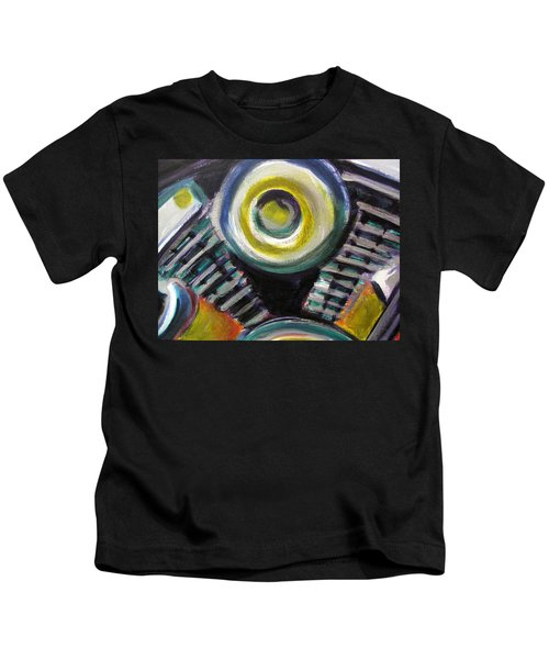 Motorcycle Abstract Engine 2 Kids T-Shirt