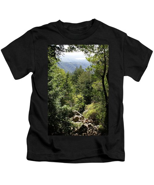 Mount Tamalpais Forest View Kids T-Shirt
