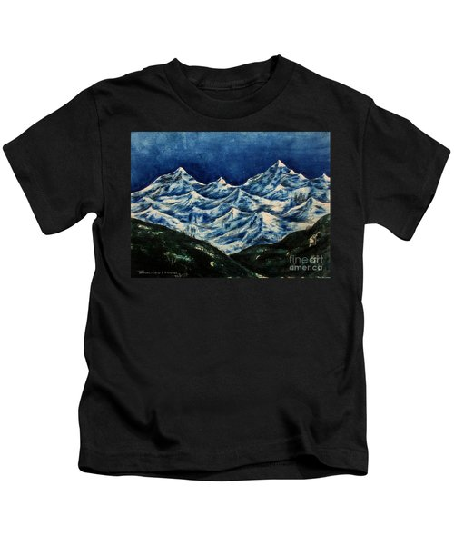 Mountain-2 Kids T-Shirt