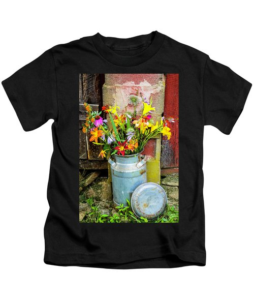 Mountain Bouquet Kids T-Shirt