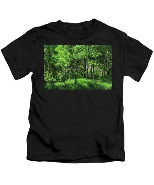 Mountain Greenery Kids T-Shirt