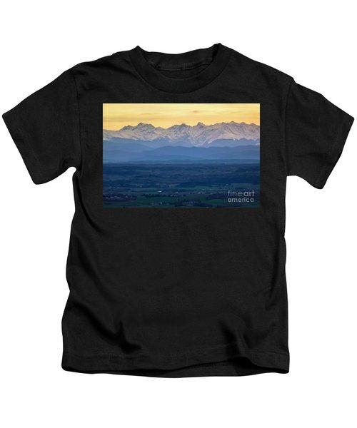 Mountain Scenery 15 Kids T-Shirt