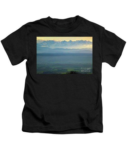 Mountain Scenery 18 Kids T-Shirt