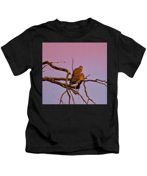Mourning Doves Kids T-Shirt