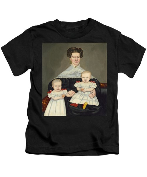 Mrs Paul Smith Palmer And Her Twins Kids T-Shirt