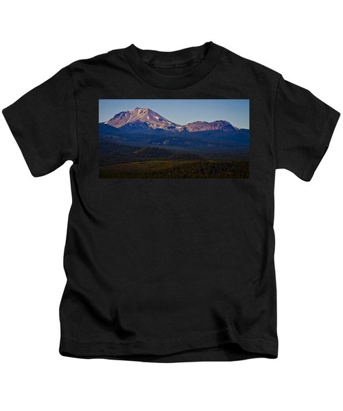 Mt Lassen And Chaos Crags Kids T-Shirt