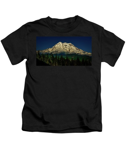 Mt Rainier Kids T-Shirt