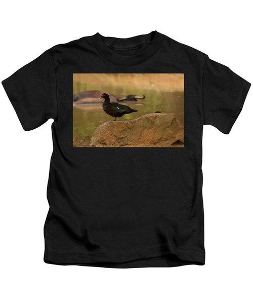 Muscovy Duck Kids T-Shirt