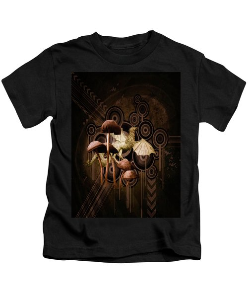 Mushroom Dragon Kids T-Shirt