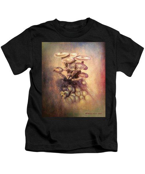 Mushrooms Gone Wild Kids T-Shirt