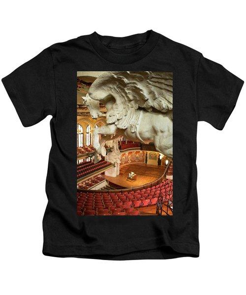 Palau De La Musica Catalana, Barcelona Kids T-Shirt
