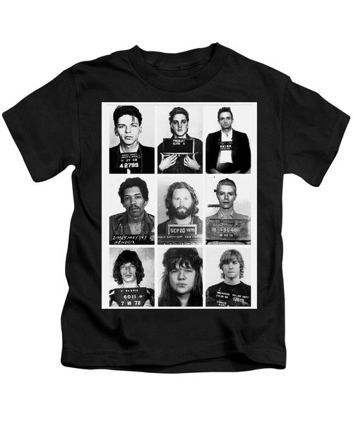 Musical Mug Shots Three Legends Very Large Original Photo 9 Kids T-Shirt