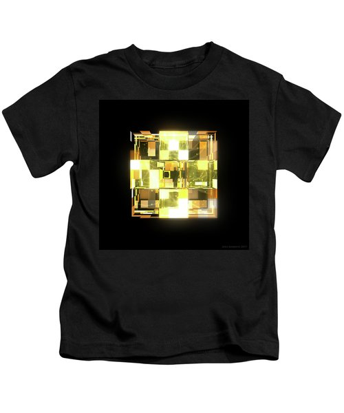 My Cubed Mind - Frame 019 Kids T-Shirt