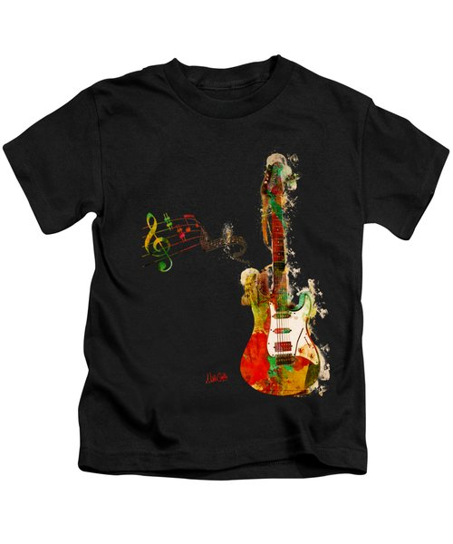 My Guitar Can Sing Kids T-Shirt