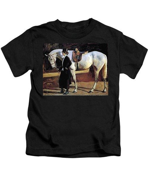 My Horse Is My Friend  Kids T-Shirt